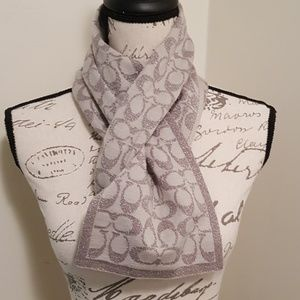 Women's Coach Winter Scarf